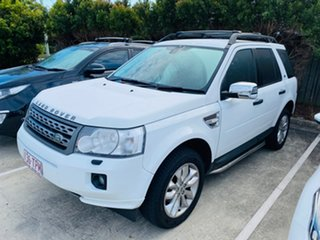 2010 Land Rover Freelander 2 LF MY11 TD4 XS White 6 Speed Sports Automatic Wagon.