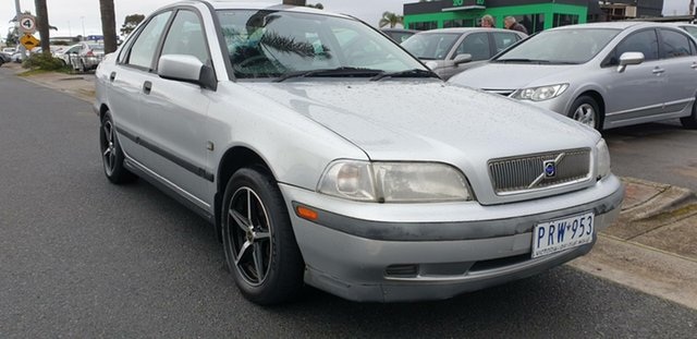 Used Volvo S40 MY00 , 1999 Volvo S40 MY00 Silver 4 Speed Automatic Sedan