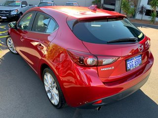 2014 Mazda 3 BM5438 SP25 SKYACTIV-Drive GT Red 6 Speed Sports Automatic Hatchback.