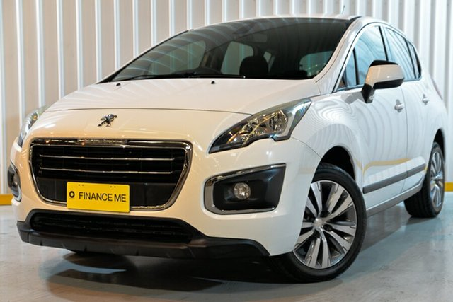 Used Peugeot 3008 T8 MY13 Active SUV, 2014 Peugeot 3008 T8 MY13 Active SUV White 6 Speed Sports Automatic Hatchback