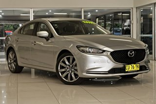 2019 Mazda 6 GL1033 GT SKYACTIV-Drive Silver 6 Speed Sports Automatic Sedan.
