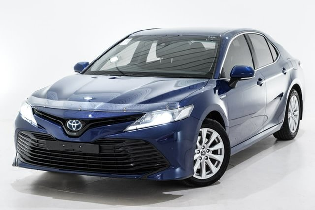 Used Toyota Camry AXVH71R Ascent, 2018 Toyota Camry AXVH71R Ascent Blue 6 Speed Constant Variable Sedan Hybrid