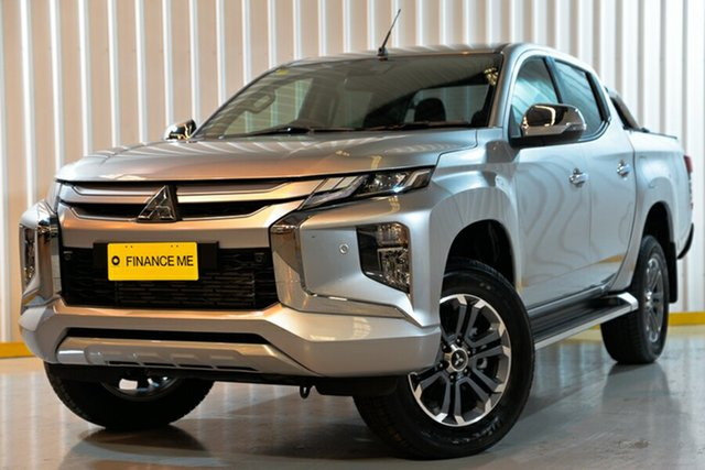 Used Mitsubishi Triton MR MY20 GLS Double Cab, 2019 Mitsubishi Triton MR MY20 GLS Double Cab Silver 6 Speed Sports Automatic Utility