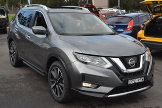 2017 Nissan X-Trail T32 Series II Ti X-tronic 4WD Grey 7 Speed Wagon