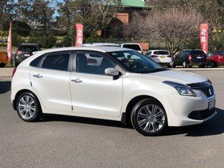 2017 Suzuki Baleno GLX Turbo Pearl White Sports Automatic Hatchback
