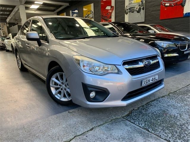 Used Subaru Impreza G4 2.0I-S, 2012 Subaru Impreza G4 2.0I-S Silver Constant Variable Sedan