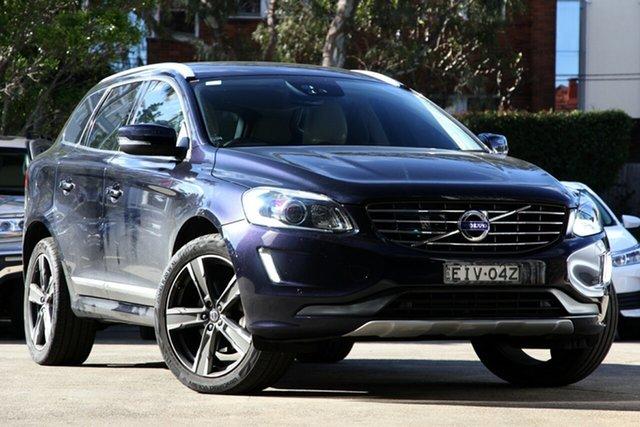 Used Volvo XC60 DZ MY16 D5 Luxury, 2015 Volvo XC60 DZ MY16 D5 Luxury Blue 6 Speed Automatic Geartronic Wagon