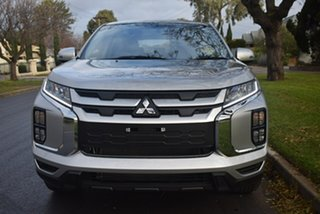2019 Mitsubishi ASX XD MY20 ES 2WD ADAS Sterling Silver 1 Speed Constant Variable Wagon.