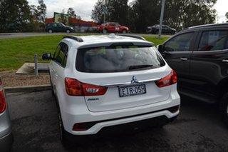 2019 Mitsubishi ASX XC MY19 ES 2WD ADAS White 1 Speed Wagon.