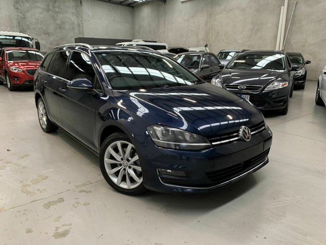 Used Volkswagen Golf VII MY14 110TDI DSG Highline, 2013 Volkswagen Golf VII MY14 110TDI DSG Highline Blue 6 Speed Sports Automatic Dual Clutch Wagon