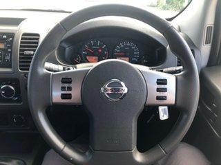 2014 Nissan Navara D40 S9 Silverline SE White 6 Speed Manual Utility