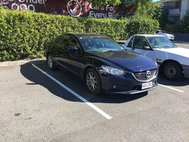 Used Mazda 6 GJ1031 Sport SKYACTIV-Drive, 2013 Mazda 6 GJ1031 Sport SKYACTIV-Drive Blue 6 Speed Sports Automatic Sedan