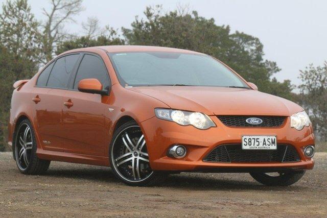 Used Ford Falcon FG XR6 Limited Edition, 2011 Ford Falcon FG XR6 Limited Edition Orange 6 Speed Sports Automatic Sedan