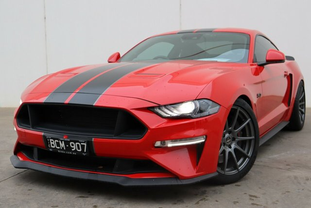 Demo Ford Mustang FN 2018MY GT Fastback SelectShift, 2018 Ford Mustang FN 2018MY GT Fastback SelectShift Race Red 10 Speed Sports Automatic Fastback