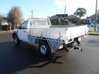 2009 Ford Ranger PK XL Hi-Rider (4x2) White 5 Speed Manual Cab Chassis