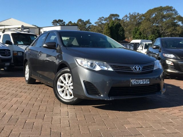 Used Toyota Camry ASV50R Altise, 2013 Toyota Camry ASV50R Altise Grey 6 Speed Sports Automatic Sedan