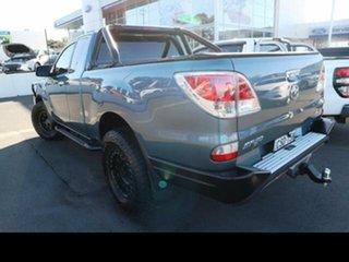 2014 Mazda BT-50 MY13 XTR (4x4) Gunmetal Blue 6 Speed Manual Freestyle Utility.