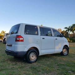 2009 Suzuki APV White 5 Speed Manual Van