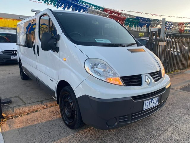 Used Renault Trafic X83 Phase 3 Low Roof, 2014 Renault Trafic X83 Phase 3 Low Roof White 6 Speed Manual Van