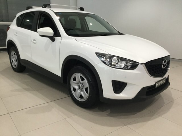 Used Mazda CX-5 KE1071 MY14 Maxx SKYACTIV-Drive, 2014 Mazda CX-5 KE1071 MY14 Maxx SKYACTIV-Drive White 6 Speed Sports Automatic Wagon