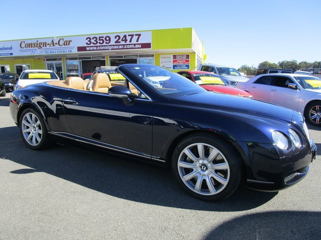 Used Bentley Continental  , 2007 Bentley Continental GT-C Blue Convertible