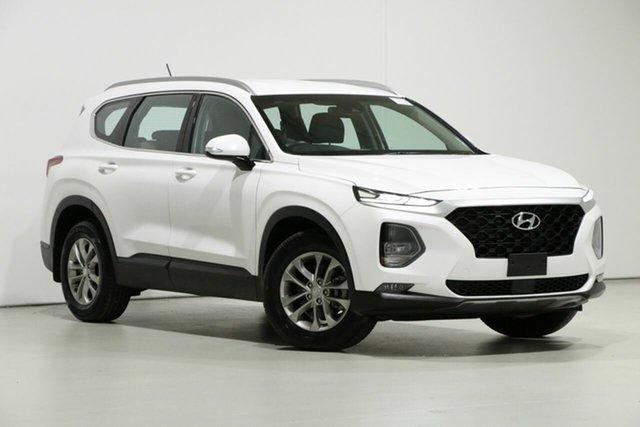 Used Hyundai Santa Fe DM5 MY18 Active CRDi (4x4), 2018 Hyundai Santa Fe DM5 MY18 Active CRDi (4x4) White 6 Speed Automatic Wagon