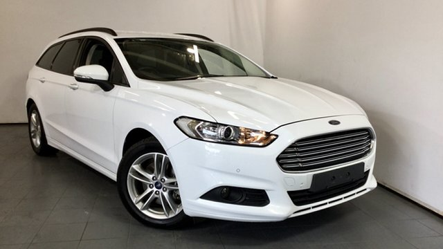 Used Ford Mondeo MD Ambiente PwrShift, 2015 Ford Mondeo MD Ambiente PwrShift White 6 Speed Sports Automatic Dual Clutch Wagon
