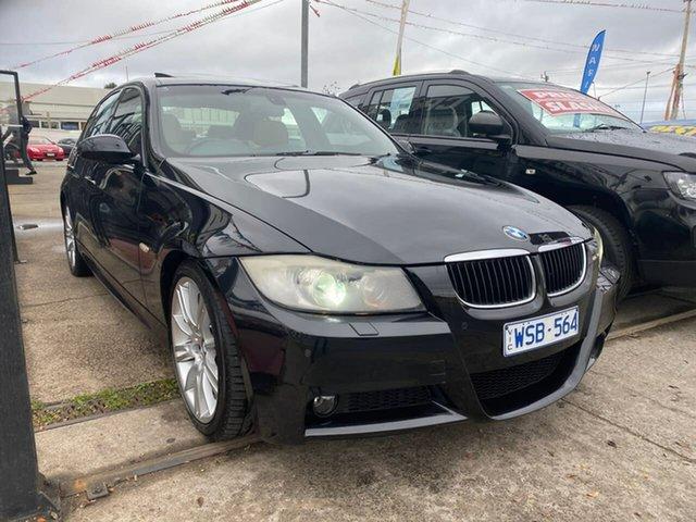 Used BMW 3 Series E90 MY08 320i Steptronic Executive, 2008 BMW 3 Series E90 MY08 320i Steptronic Executive Black 6 Speed Sports Automatic Sedan