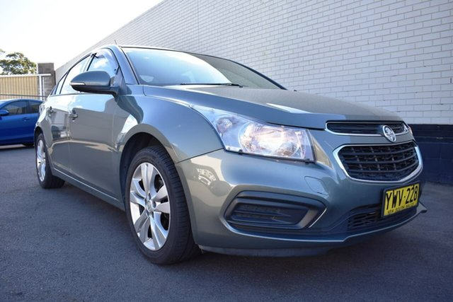 Used Holden Cruze JH Series II MY16 Equipe, 2015 Holden Cruze JH Series II MY16 Equipe Grey 6 Speed Sports Automatic Sedan