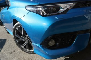 2018 Toyota Corolla ZRE182R ZR S-CVT Blue 7 Speed Constant Variable Hatchback.