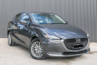 2020 Mazda 2 DL2SAA G15 SKYACTIV-Drive GT Machine Grey 6 Speed Sports Automatic Sedan.