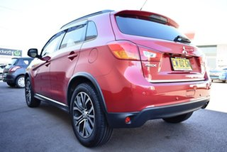 2015 Mitsubishi ASX XB MY15 XLS 2WD Red 6 Speed Constant Variable Wagon