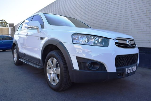 Used Holden Captiva CG MY13 7 SX, 2013 Holden Captiva CG MY13 7 SX White 6 Speed Sports Automatic Wagon