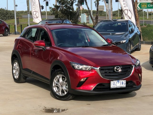 Demo Mazda CX-3 DK2W7A Maxx SKYACTIV-Drive FWD Sport, 2020 Mazda CX-3 DK2W7A Maxx SKYACTIV-Drive FWD Sport Soul Red Crystal 6 Speed Sports Automatic Wagon