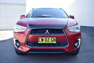 2015 Mitsubishi ASX XB MY15 XLS 2WD Red 6 Speed Constant Variable Wagon.