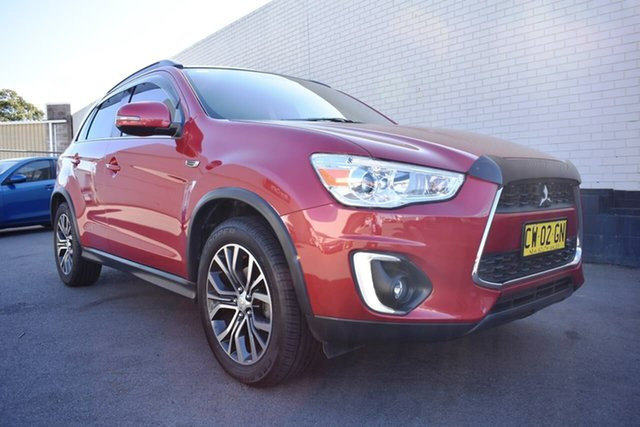Used Mitsubishi ASX XB MY15 XLS 2WD, 2015 Mitsubishi ASX XB MY15 XLS 2WD Red 6 Speed Constant Variable Wagon