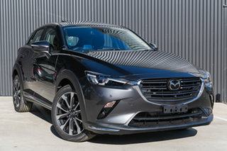 2020 Mazda CX-3 DK4W7A Akari SKYACTIV-Drive i-ACTIV AWD Machine Grey 6 Speed Sports Automatic Wagon.
