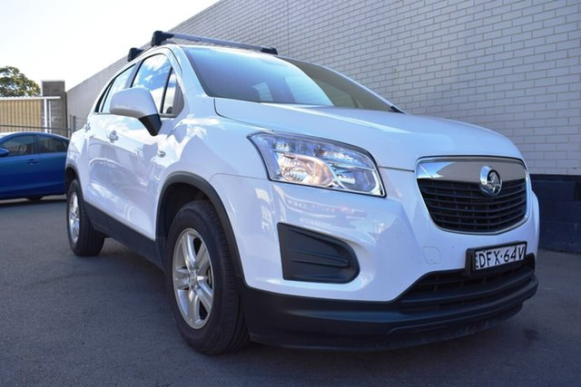 Used Holden Trax TJ MY16 LS, 2016 Holden Trax TJ MY16 LS White 6 Speed Automatic Wagon