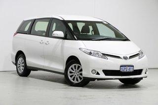 2018 Toyota Tarago ACR50R MY16 GLi White 7 Speed CVT Auto Sequential Wagon.