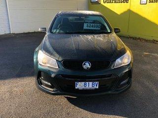 2016 Holden Commodore VF II MY16 SV6 Black Dark Green 6 Speed Sports Automatic Sedan.