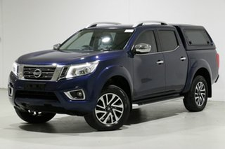 2017 Nissan Navara D23 Series II ST-X (4x4) Blue 6 Speed Manual Dual Cab Utility.