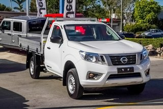 2018 Nissan Navara D23 S3 DX White 6 Speed Manual Cab Chassis.