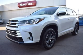 2018 Toyota Kluger GSU50R GX 2WD White 8 Speed Sports Automatic Wagon.