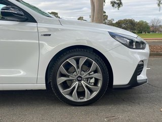 2019 Hyundai i30 PD.3 MY20 N Line D-CT Polar White 7 Speed Sports Automatic Dual Clutch Hatchback.