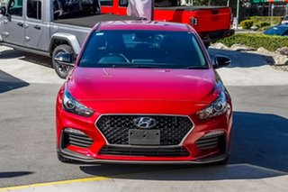 2019 Hyundai i30 PD.3 MY20 N Line D-CT Fiery Red 7 Speed Sports Automatic Dual Clutch Hatchback