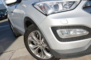 2013 Hyundai Santa Fe DM Highlander CRDi (4x4) Silver 6 Speed Automatic Wagon.