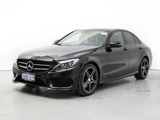 2016 Mercedes-Benz C200 205 MY16 Night Edition Black 7 Speed Automatic Sedan.