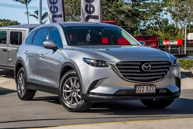 Used Mazda CX-9 TC Touring SKYACTIV-Drive, 2017 Mazda CX-9 TC Touring SKYACTIV-Drive Silver 6 Speed Sports Automatic Wagon