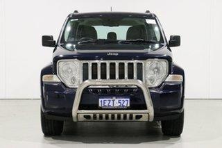 2012 Jeep Cherokee KK MY12 Limited (4x2) Blue 4 Speed Automatic Wagon.