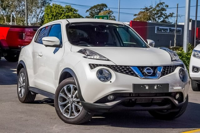 Used Nissan Juke F15 Series 2 Ti-S 2WD, 2016 Nissan Juke F15 Series 2 Ti-S 2WD White 6 Speed Manual Hatchback